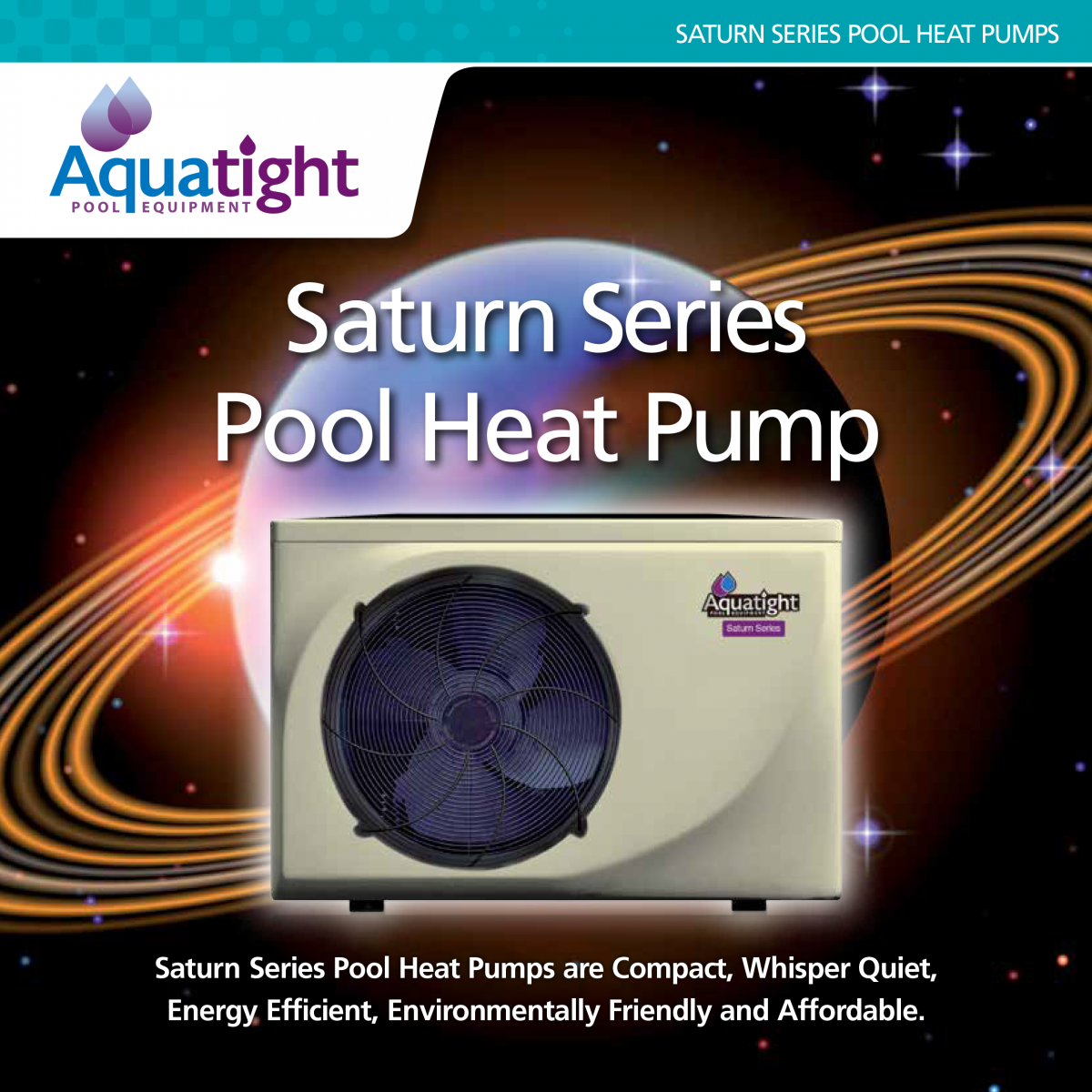 Saturn Series Pool Heat Pump